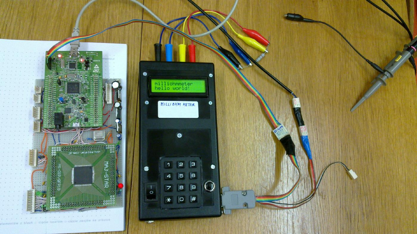Open Hardware Milliohmmeter Microohmmeter Microvoltmeter And Current Measurement Amplification Electronics Electrical Finished Instrument Used To Measure Resistance