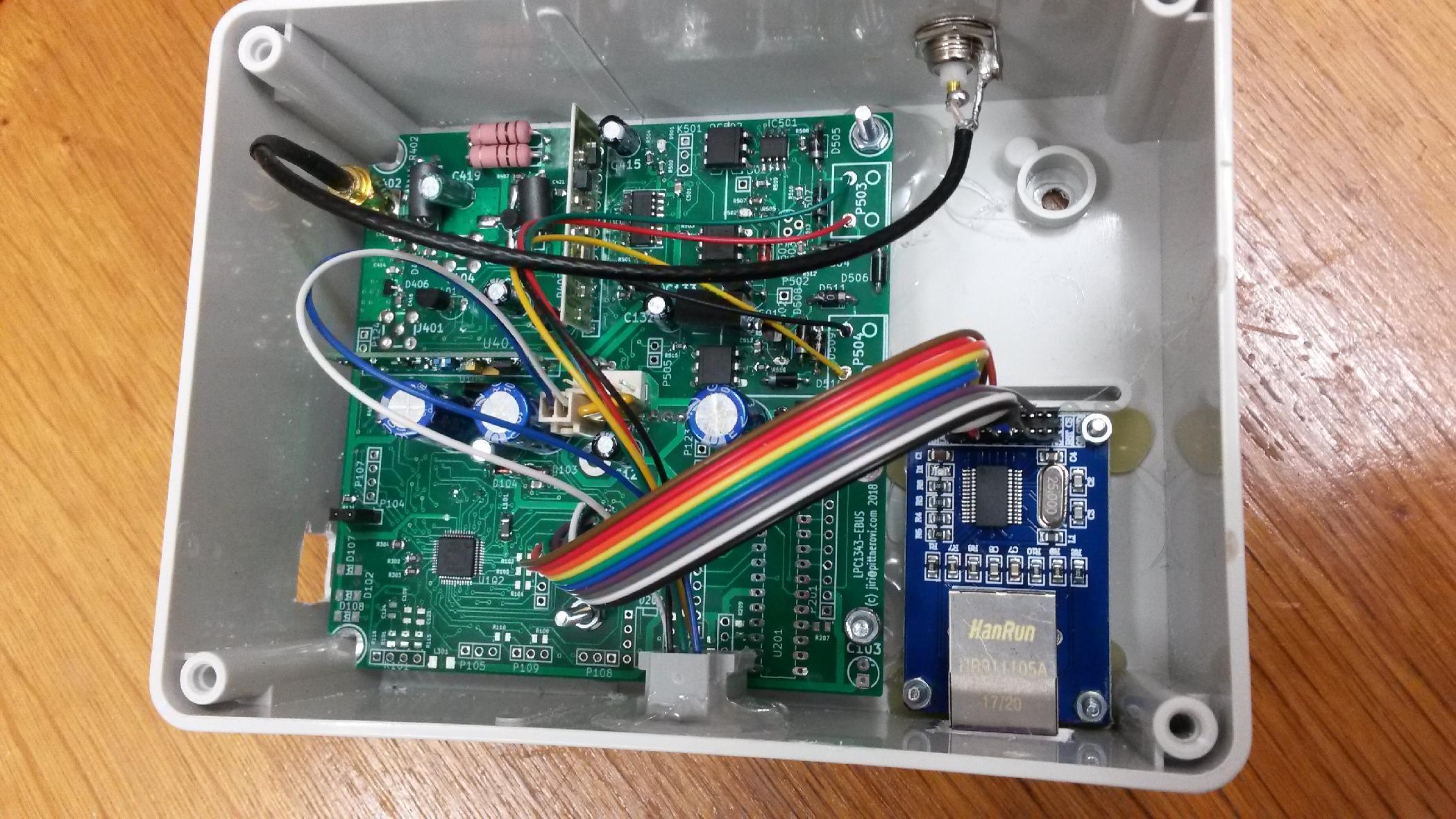 Open Hardware EBUS interface for Protherm heaters