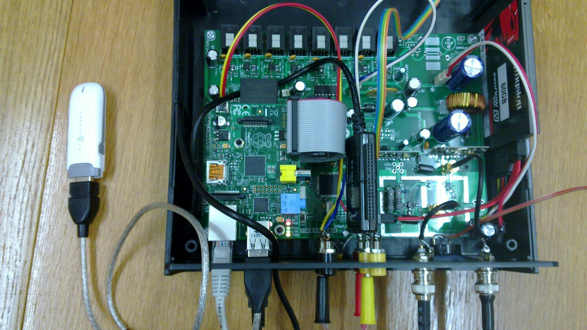 Open hardware/open source home automation and alarm switchboard